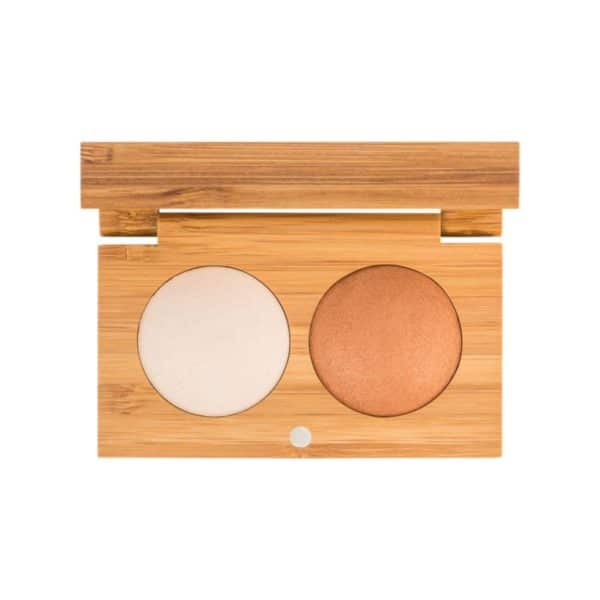 Sunkisses Baked Bronzer Highlighter Duo 1