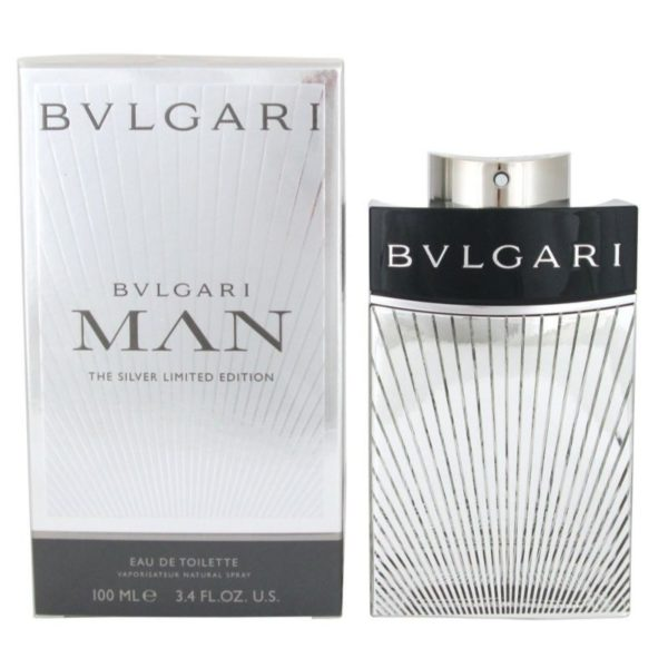 Bvlgari Man The Silver Limited Edition EDT 100ML