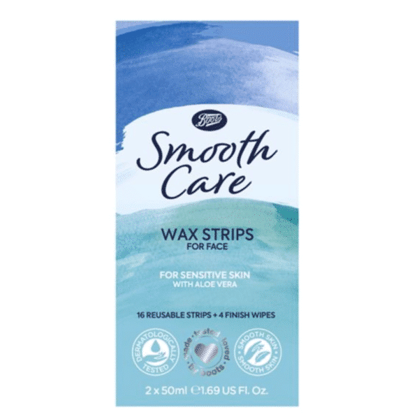 Boots Smoooth Care Facial Wax Strips