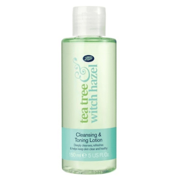 Boots Tea Tree Witch Hazel Cleansing Toning Lotion 150ml