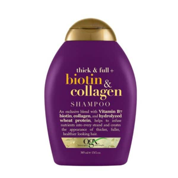 OGX Thick Full Biotin Collagen Shampoo 385 ml