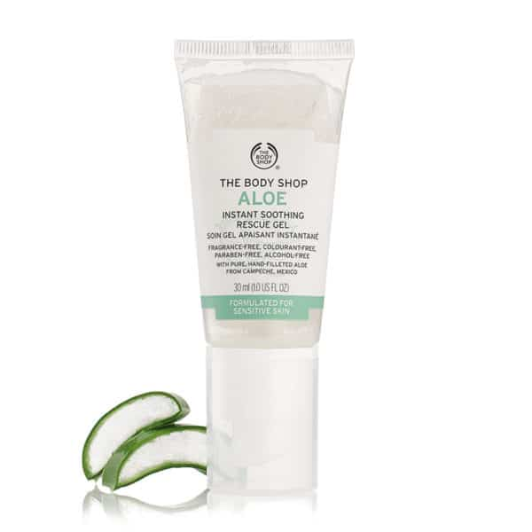 THE BODY SHOP ALOE INSTANT SOOTHING RESCUE GEL 30ML 1