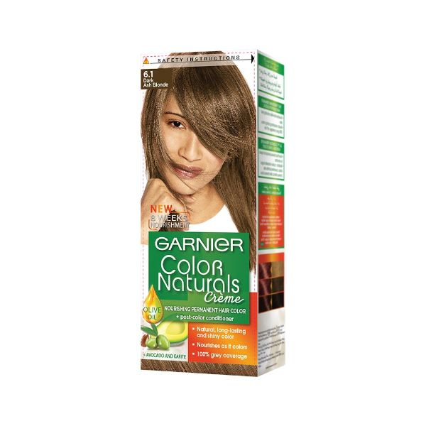 COLOR NATURALS 6.1 DARK ASH BLONDE