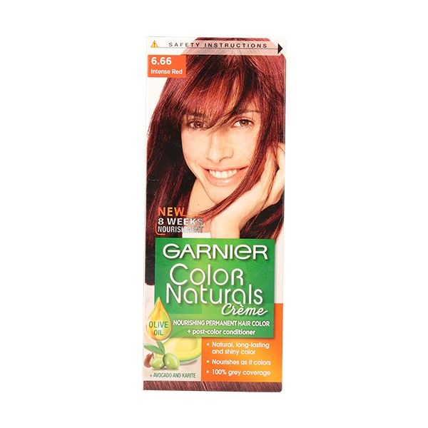 COLOR NATURALS FAA 6.66 INTENSE RED