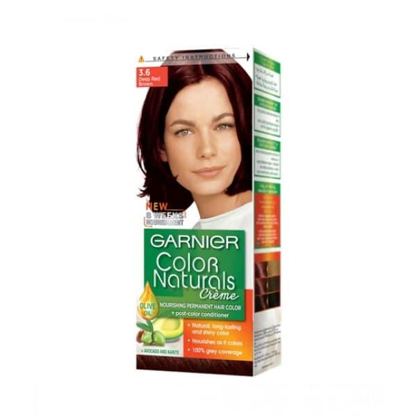 COLOR NATURALS PAK 3.6 DEEP RED BROWN