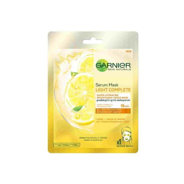 GARNIER LIGHT COMPLETE TISSUE MASK