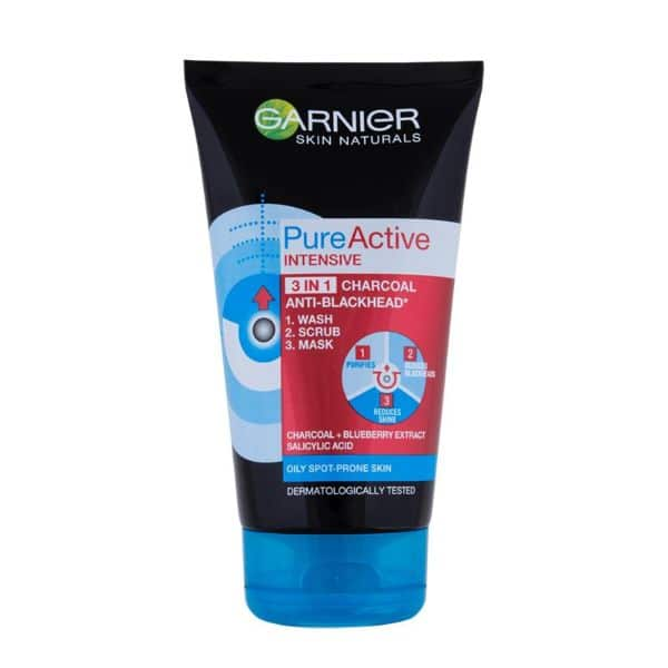 PURE ACTIVE INTENSIVE CHARCOAL 100ML