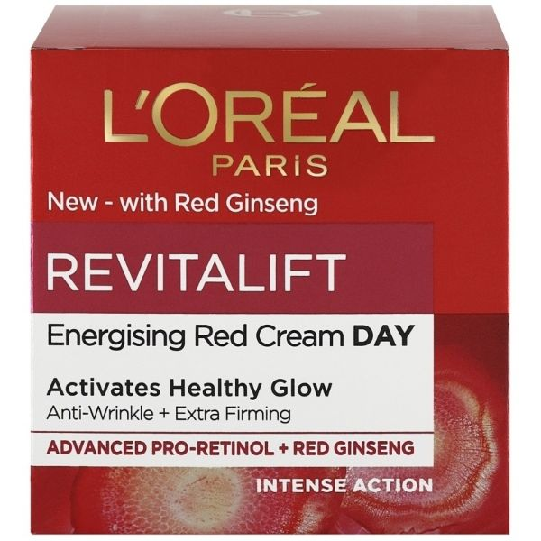loreal paris skin expert revitalift energising red cream day 50 ml 1 1